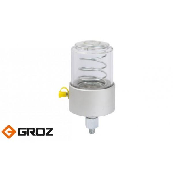 Автономные дозаторы смазки из поликарбоната и алюминия GROZ GFD/PA/1/B (GR47703)