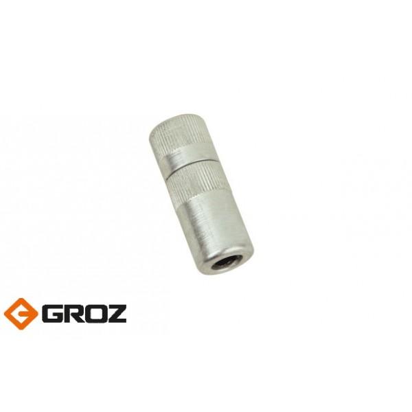 Переходник-насадка цилиндрической формы из черных металлов для смазочного шприца GROZ HC/19/3/B Арт. GR43590