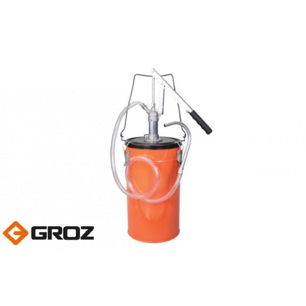 Ручной маслонагнетатель с емкостью.Арт. GR44180