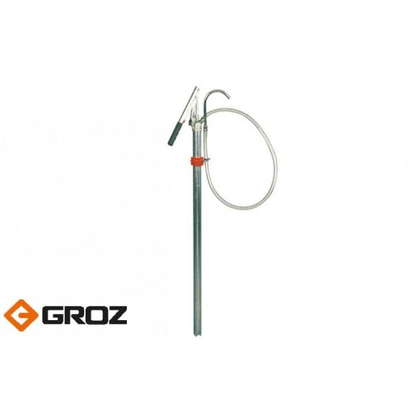 Насос бочковый ручной рычажный для тяжелых масел GROZ LLP/02 (GR44141)