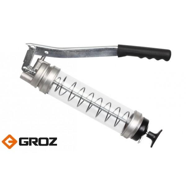 Прозрачный шприц для смазки.Арт. GR46900