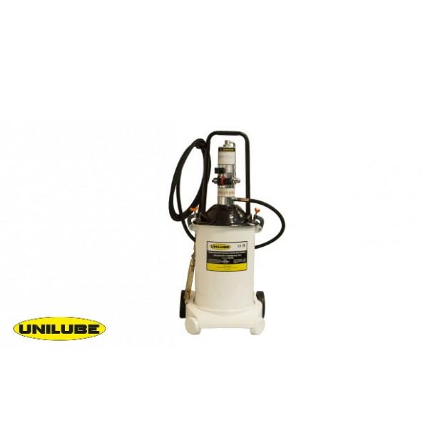 Солидолонагнетатель пневматический с насосом 50:1 и емкостью 18л
