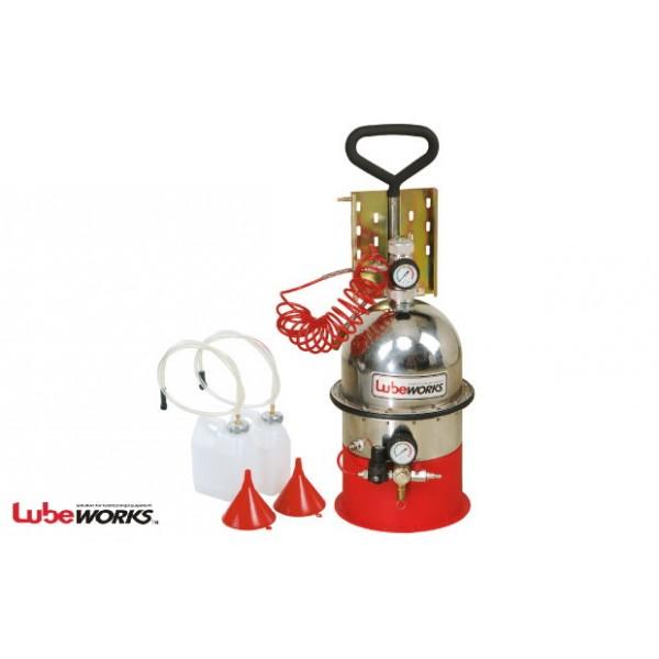 Установка по замене жидкости в тормозной системе и сцеплении