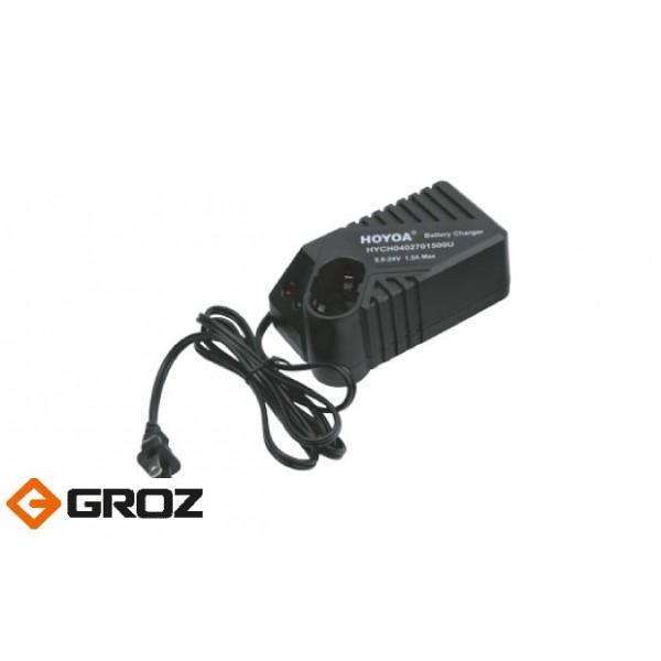 Зарядное устройство для аккумулятора 19.2V GROZ ZSS/BPGG/19N Арт. GR47252