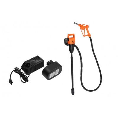 Электрический насос для бочек и еврокубов с аккумулятором.Арт. 45508