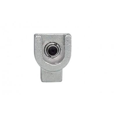 Переходник-насадка цилиндрической формы из черных металлов для смазочного шприца GROZ PCN/1/B Арт. GR43577