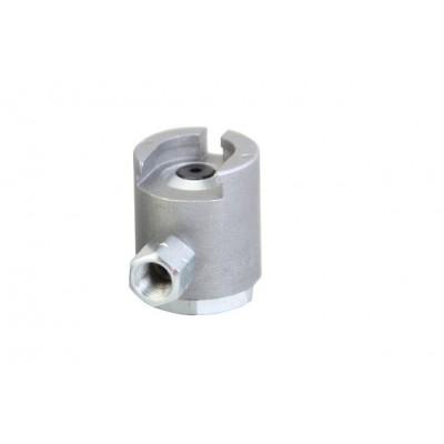 Переходник-насадка цилиндрической формы из черных металлов для смазочного шприца GROZ PCN/3/B Арт. GR43579
